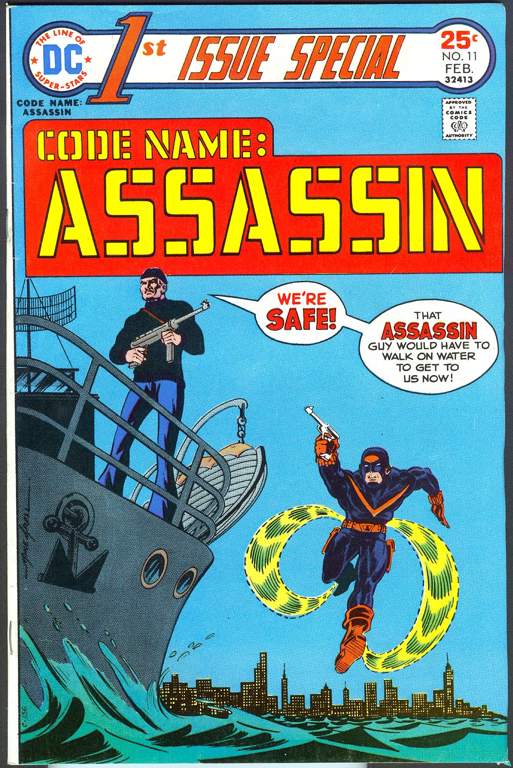 1 st Issue Special 11 (COde Name Assassin) -VFNM