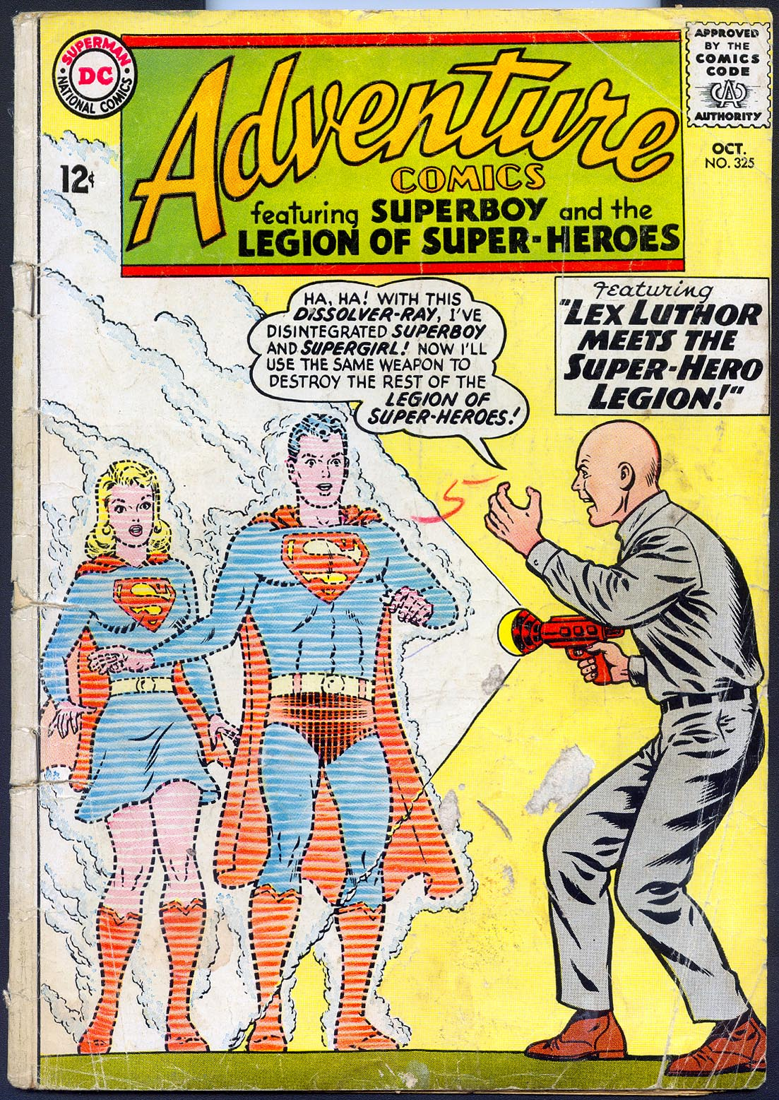 Adventure Comics 325 (Missing several pages) -FR