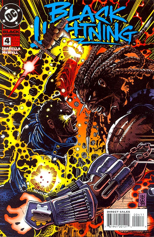 Black Lightning vol 2 - 4 -VF