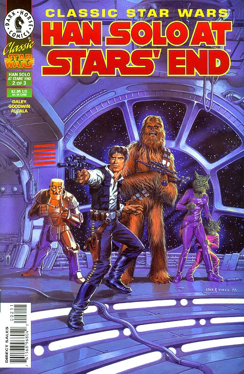 Classic Star Wars Han Solo At Stars End 2 (of 3 )