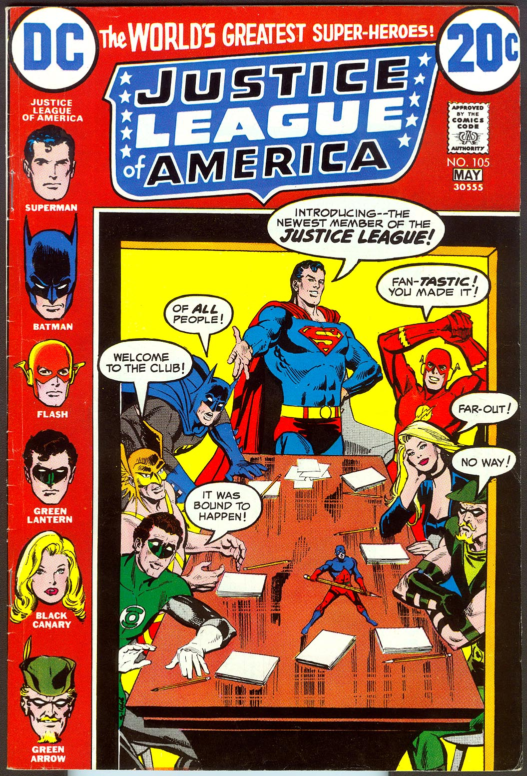 Justice League Of America 105 -VF