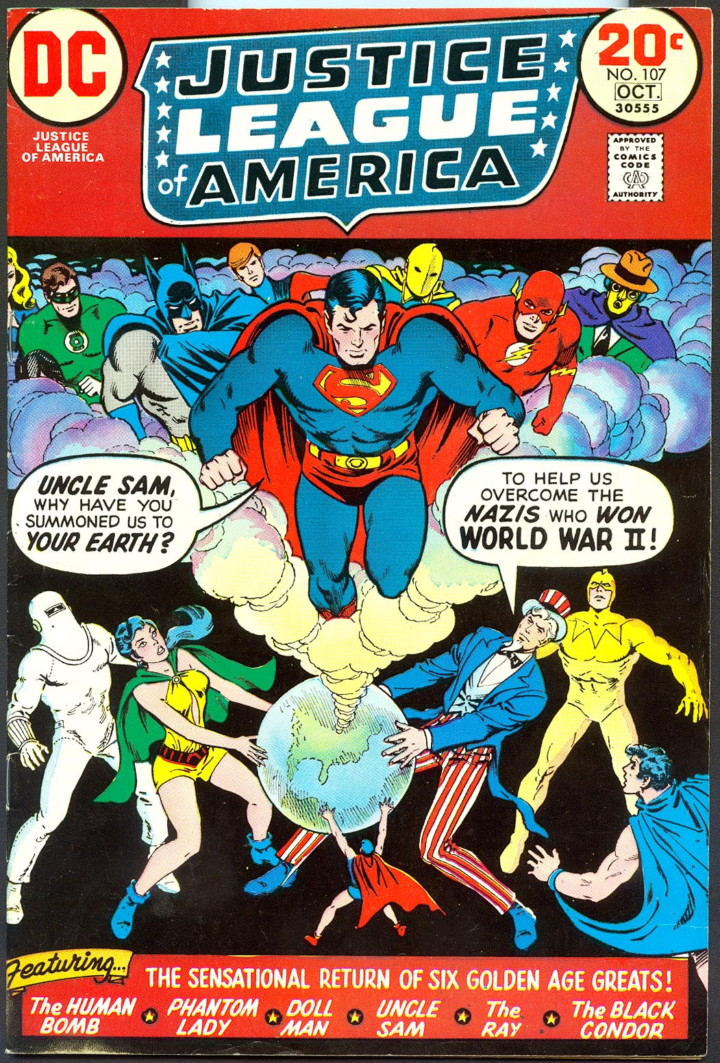 Justice League Of America 107 -VF
