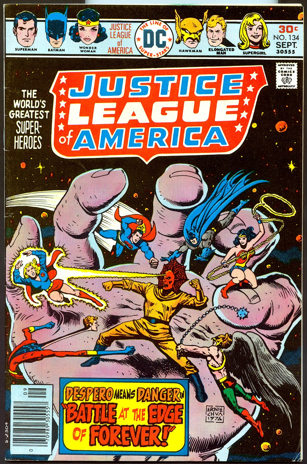 Justice League Of America 134 -VF