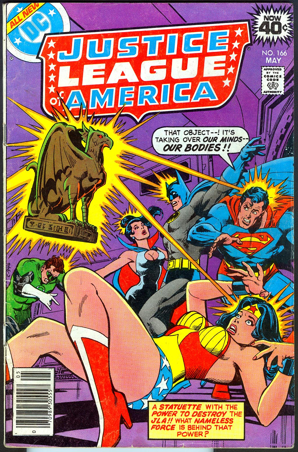 Justice League Of America 166 -VG