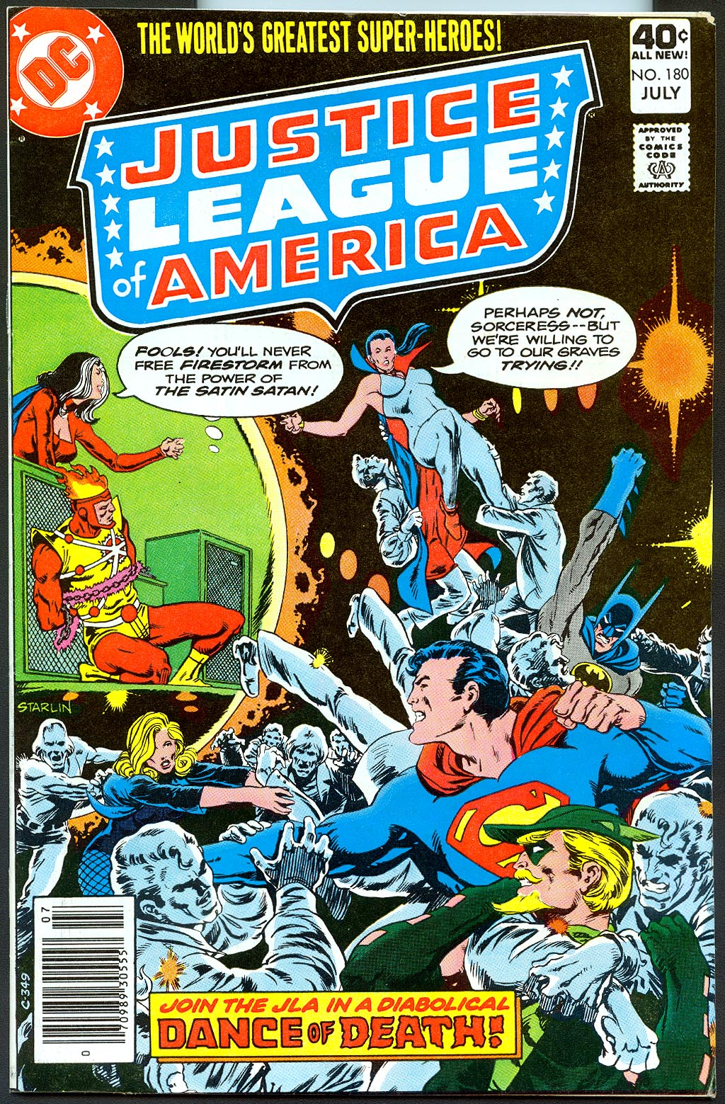 Justice League Of America 180 -VF
