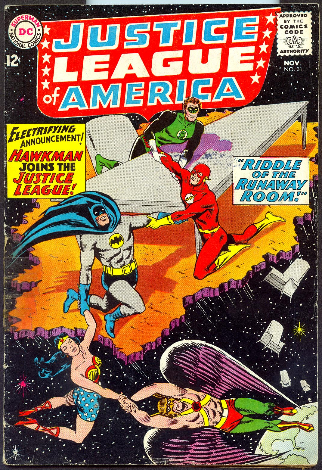 Justice League Of America 31 -G