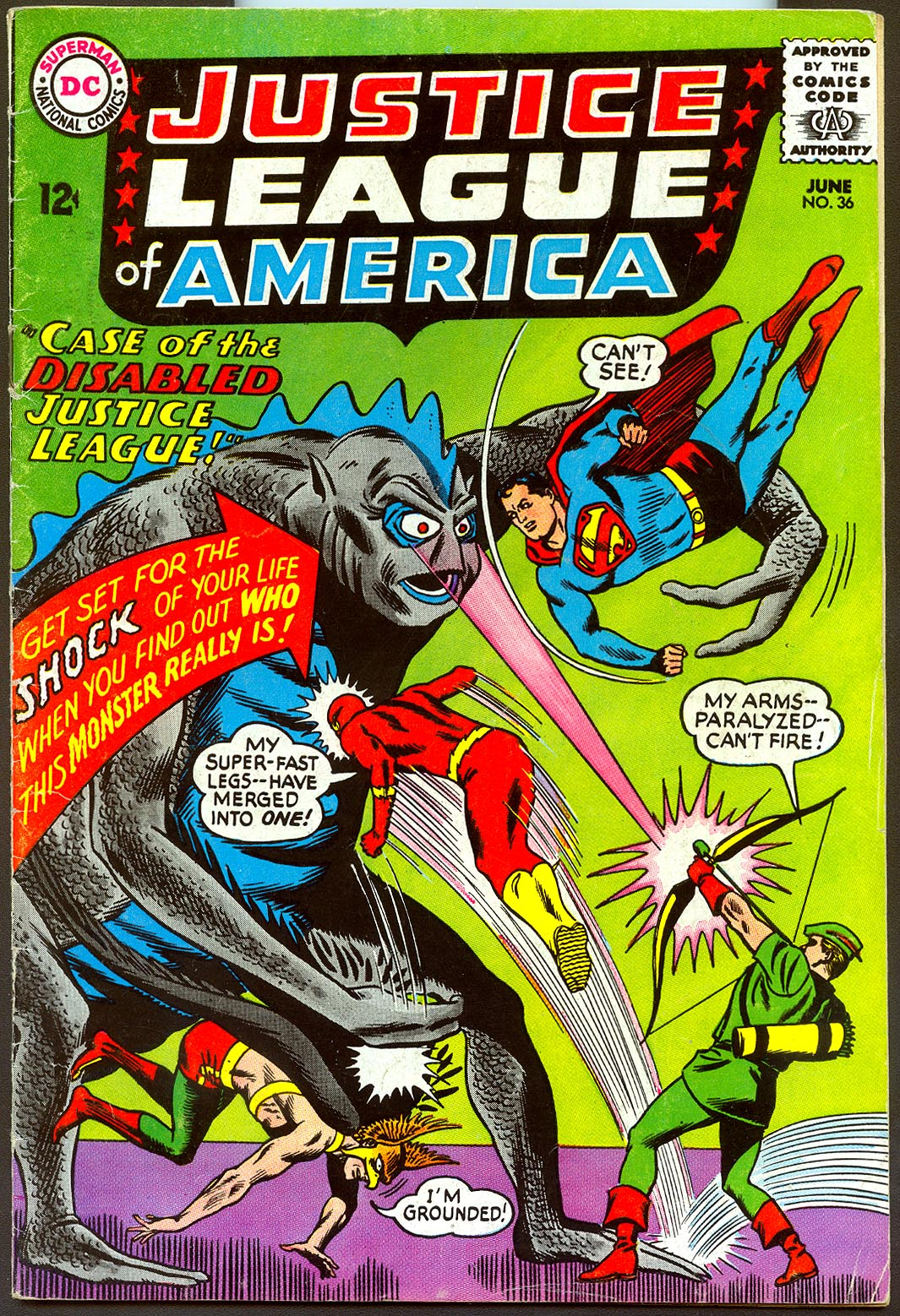 Justice League Of America 36 -VG