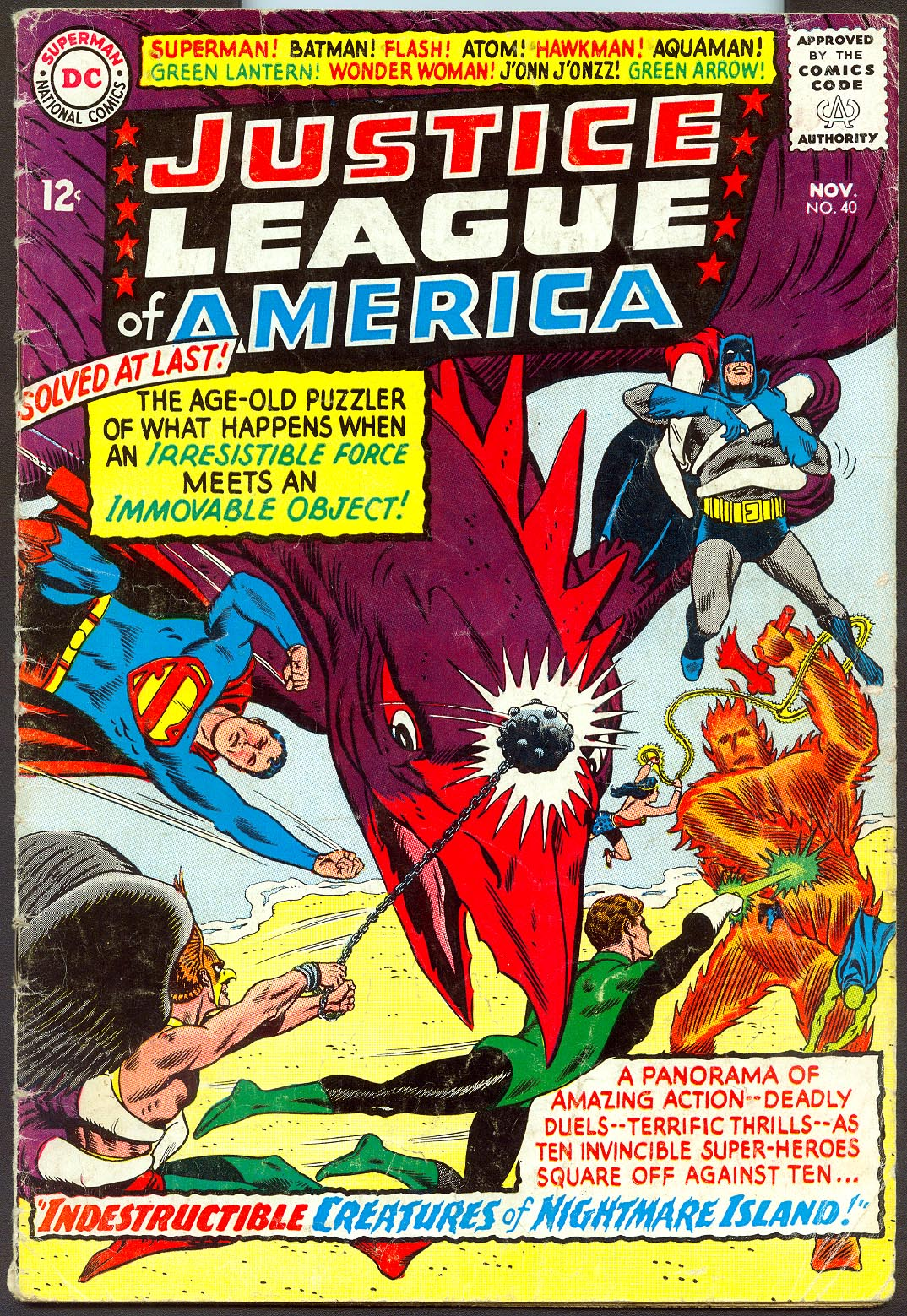 Justice League Of America 40 -G