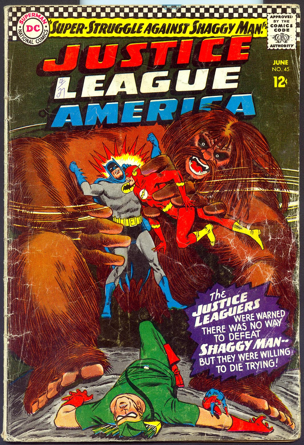 Justice League Of America 45 -G