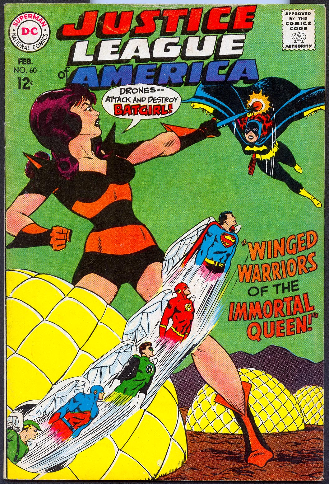 Justice League Of America 60 -VF
