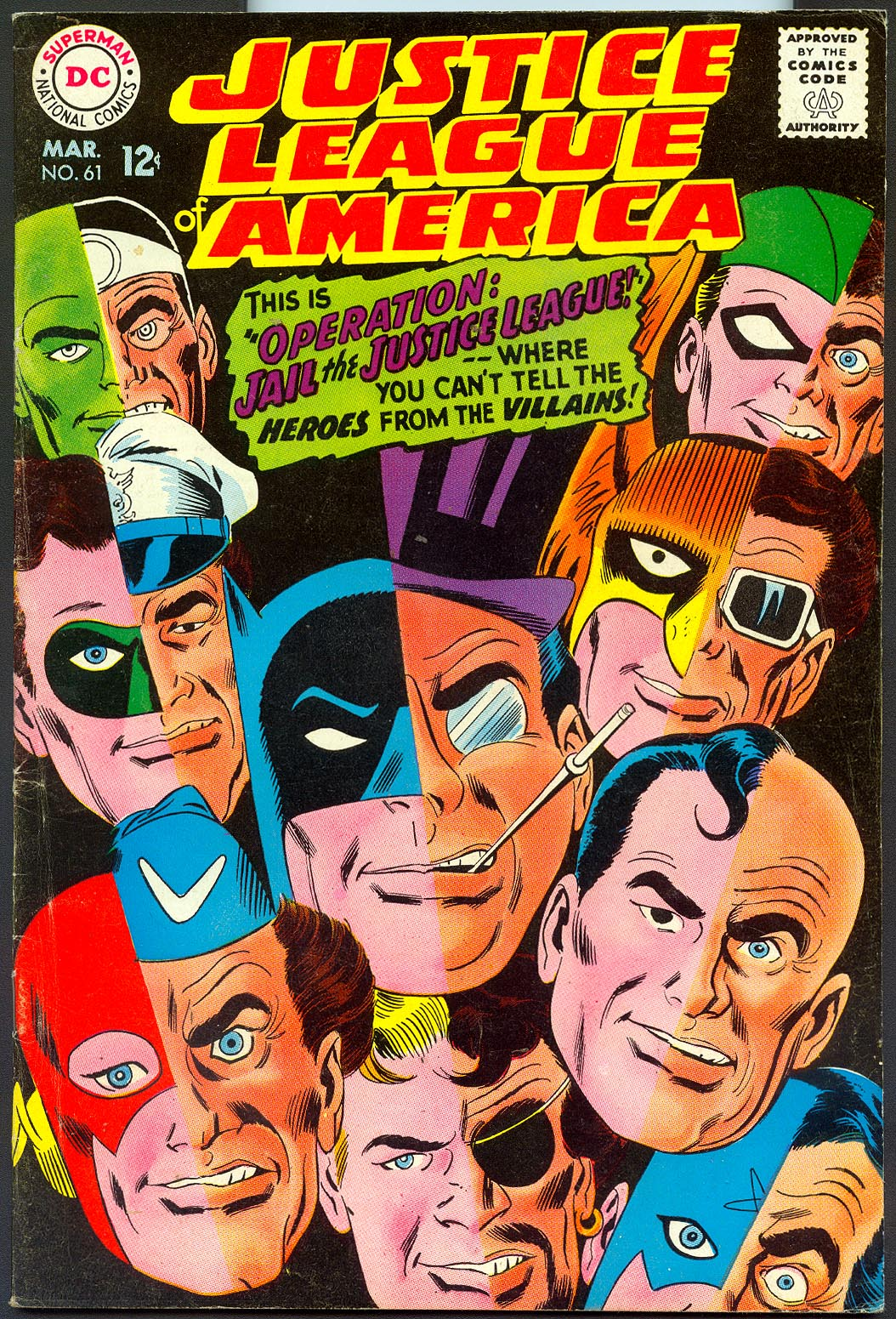 Justice League Of America 61 -VF