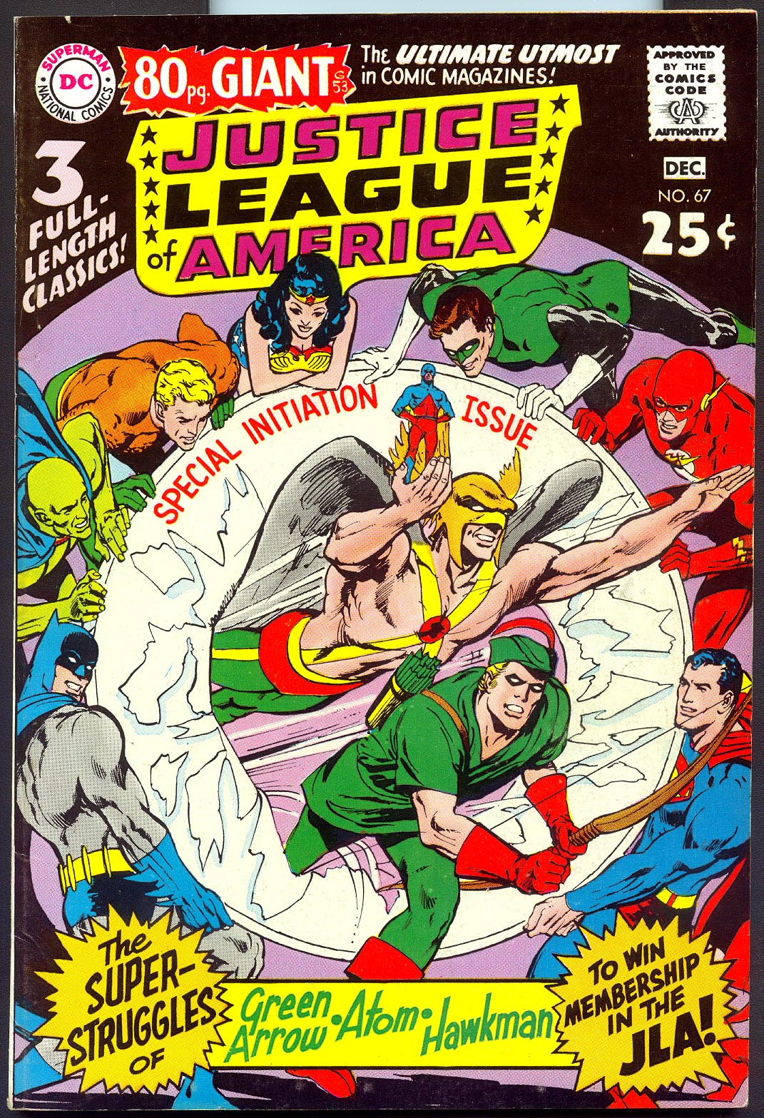 Justice League Of America 67 -VFNM