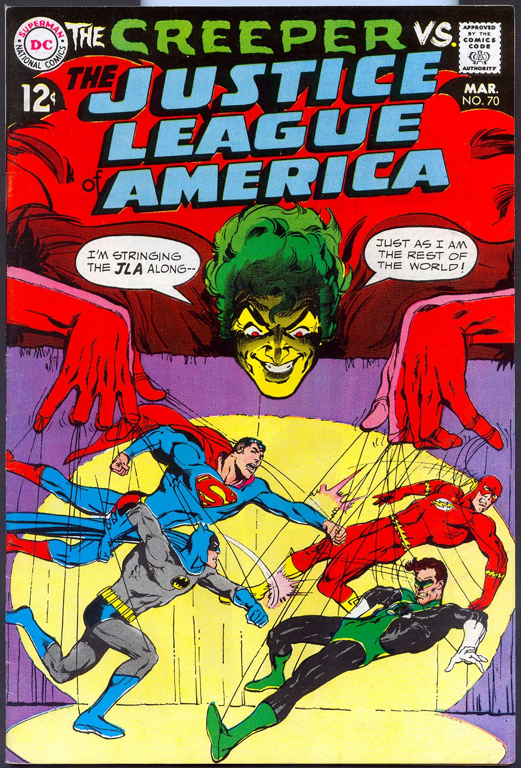 Justice League Of America 70 -VF