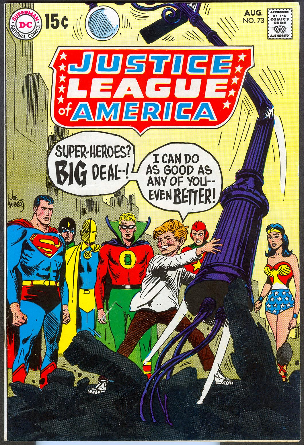Justice League Of America 73 -VF