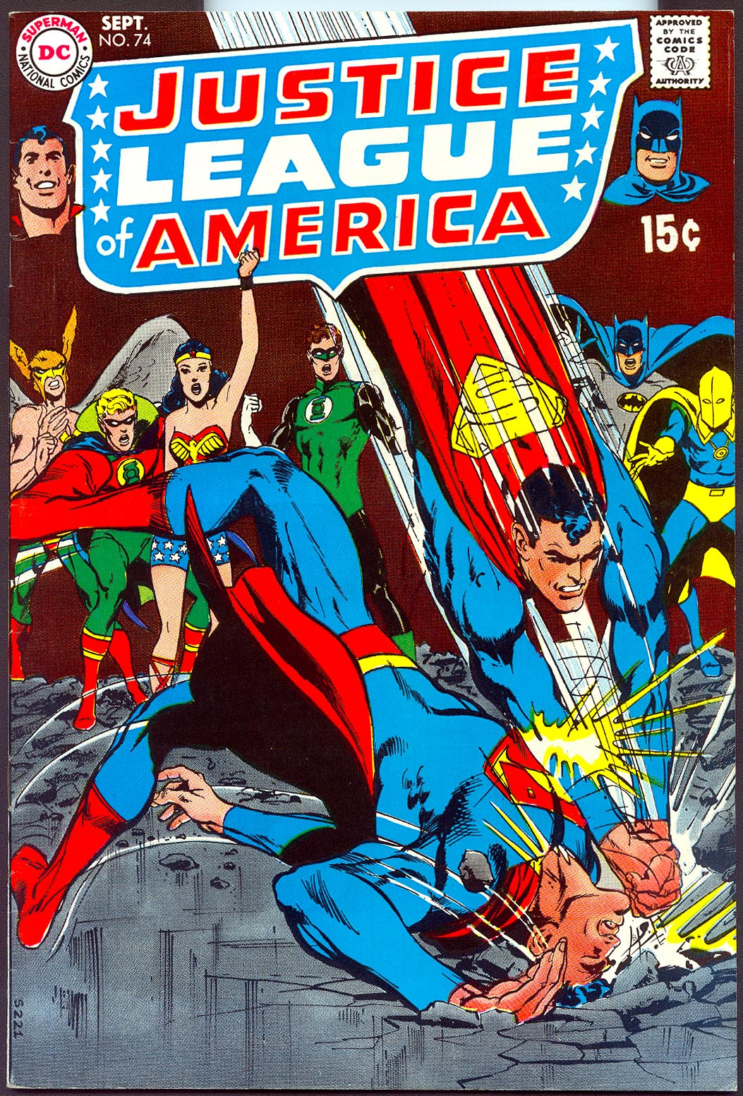 Justice League Of America 74 -VFNM