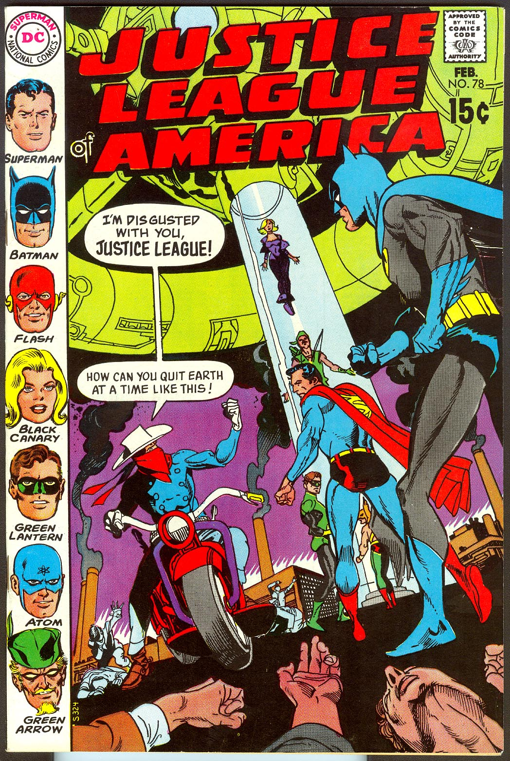 Justice League Of America 78