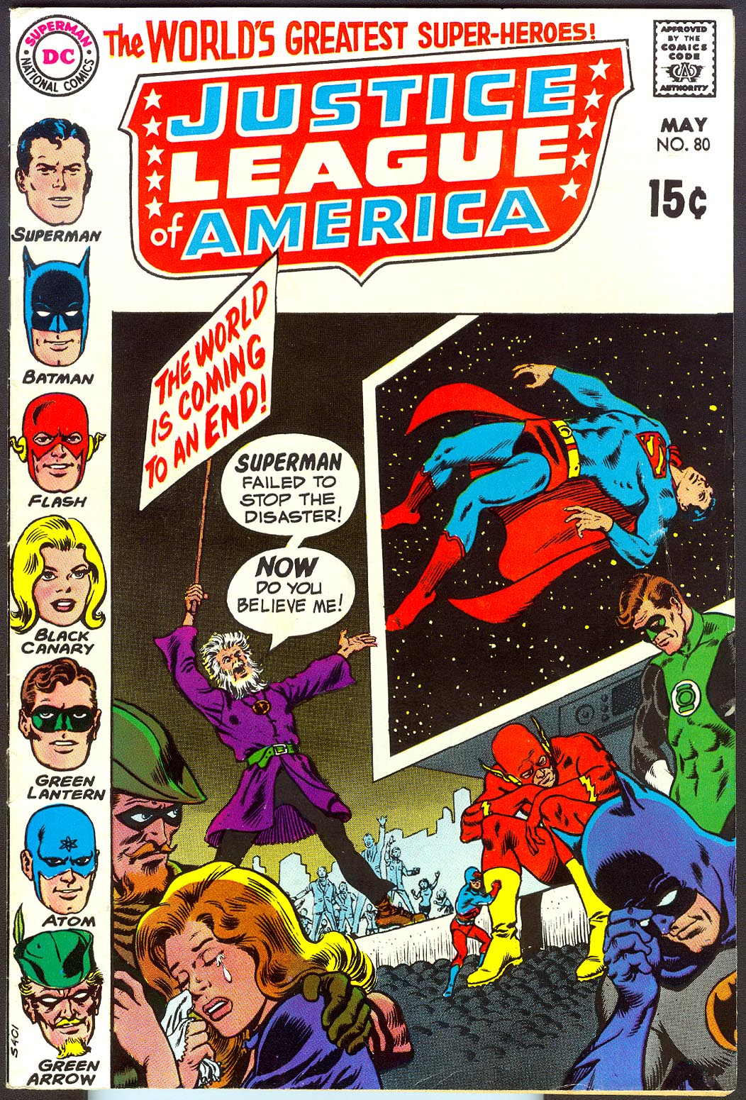 Justice League Of America 80 -VF