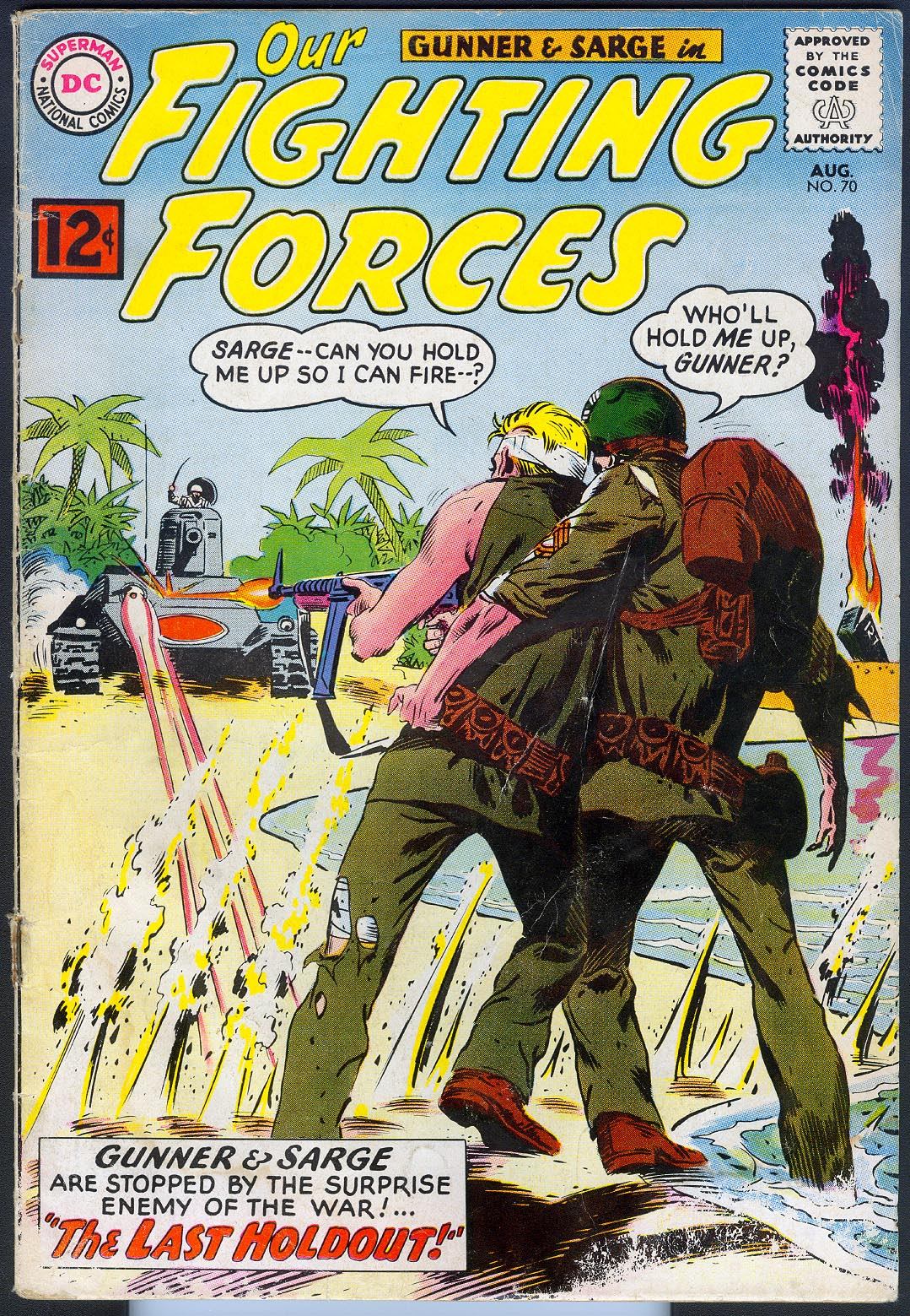 Our Fighting Forces 70 -VG