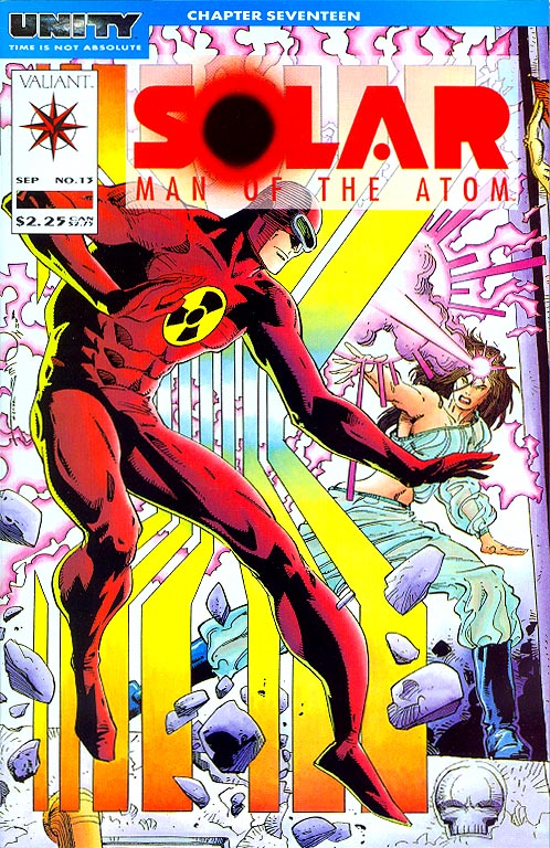 Solar Man Of the Atom (Valiant) 13