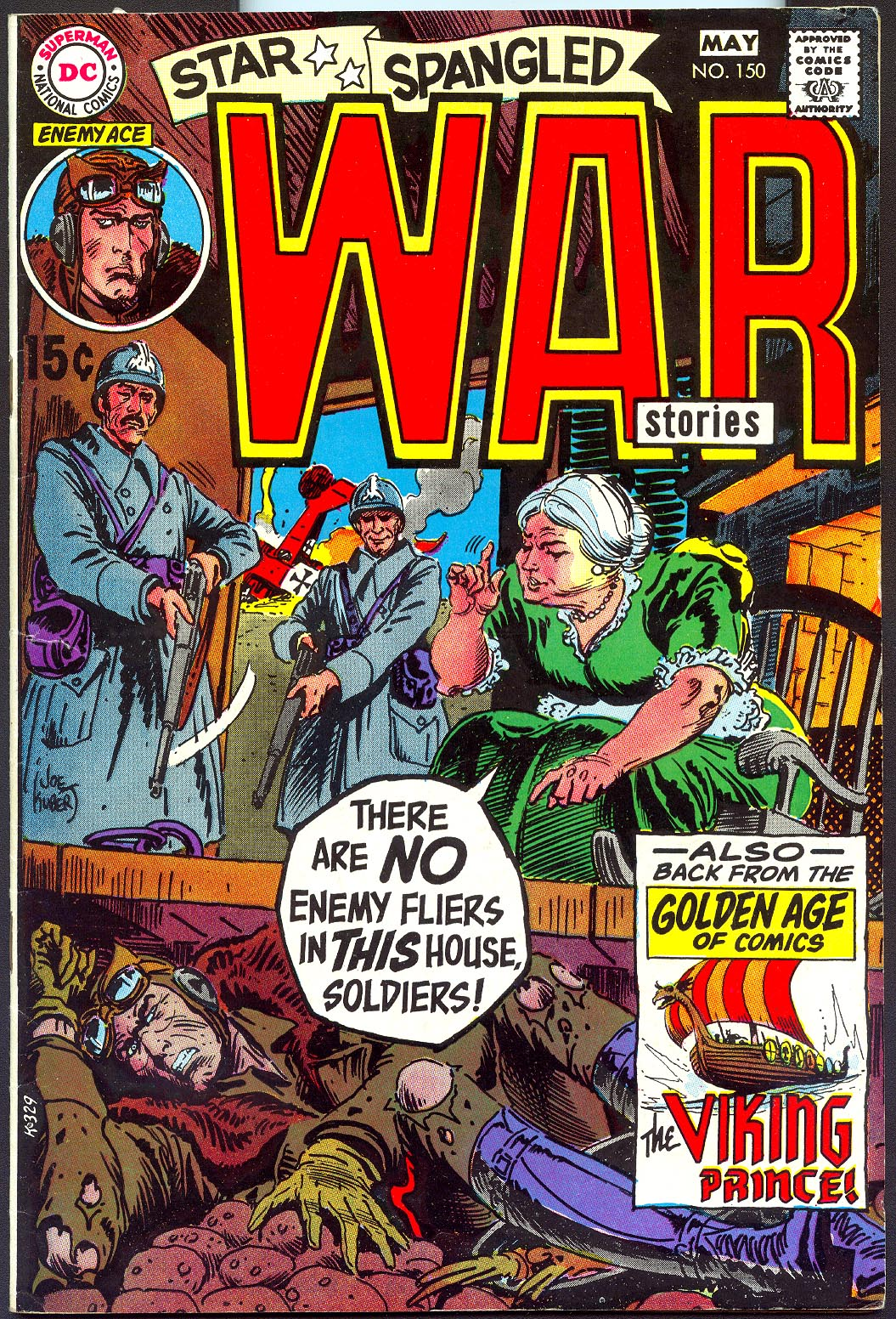 Star Spangled War Stories 150 -VF