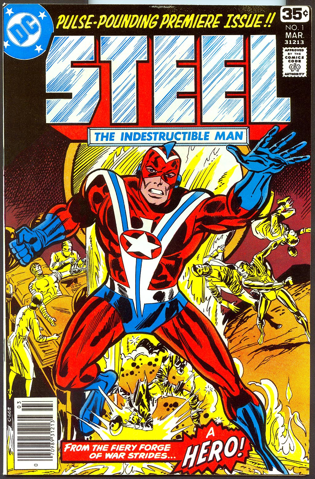 Steel The Indestructible Man 1