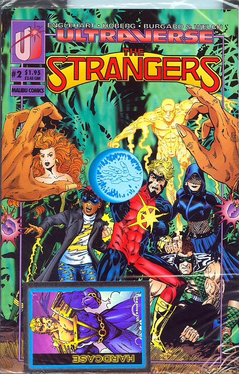 Strangers (Ultraverse) 2 (Bagged With Card)