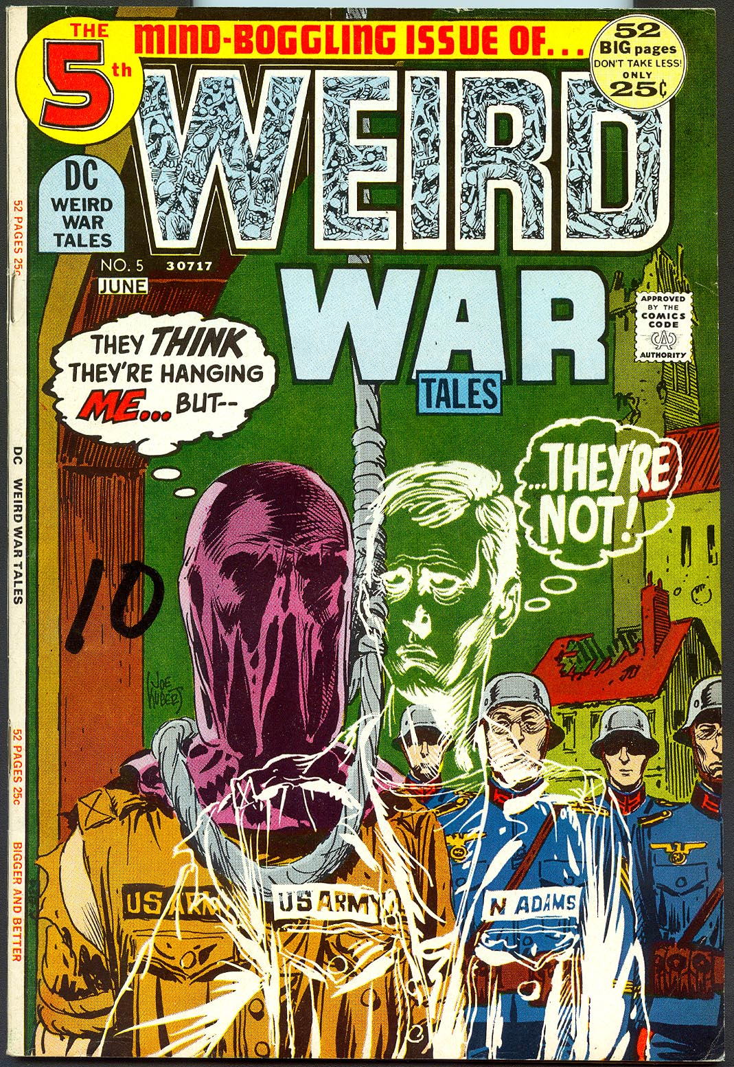 Weird War Tales vol 1 - 5 -VG