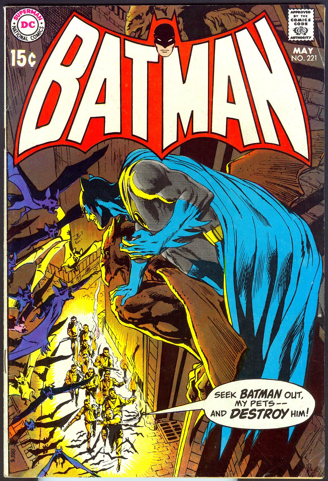 Batman 221 -VF