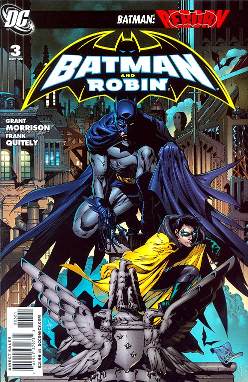 Batman And Robin 3 ( 1 in 25 Tony Daniel Variant)