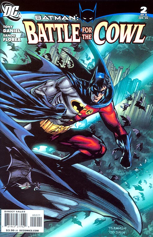 Batman Battle For The Cowl 2 ( 1 in 10 Tony Daniel Variant)