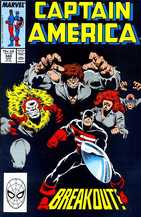 Captain America 340 -VF