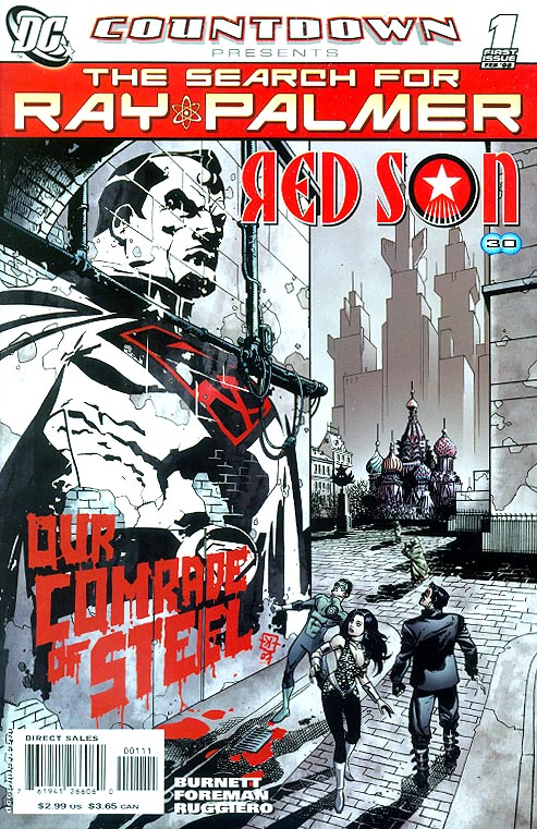 Countdown Presents The Search For Ray Palmer Red Son 1 (Travel Foreman Cvr)