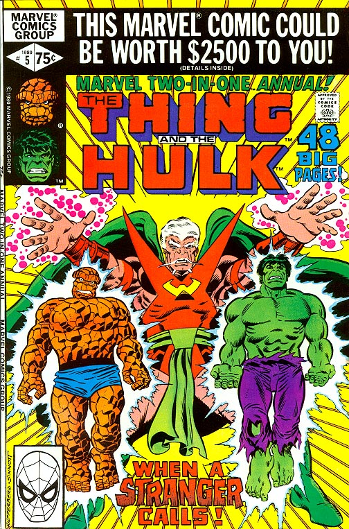 Marvel Two-In-One Annual 5