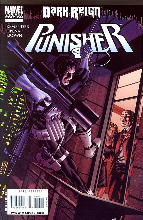 Punisher vol 6 - 4 (Mc Kone Variant)