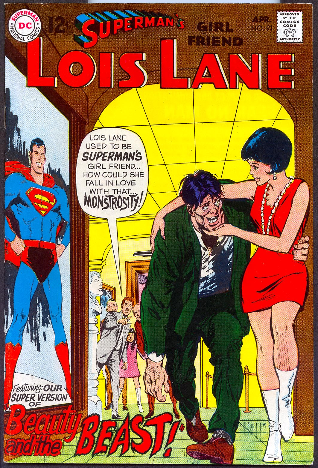 Supermans Girlfriend Lois Lane 91 -VF
