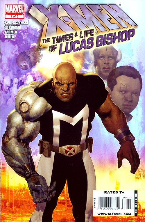 X-Men The Times And Life Of Lucas Bishop 1 (of 3 )