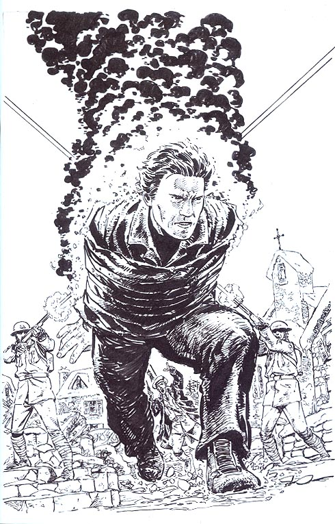Angel Blood & Trenches 2 ( 1 in 10 Byrne Virgin Sketch Variant)