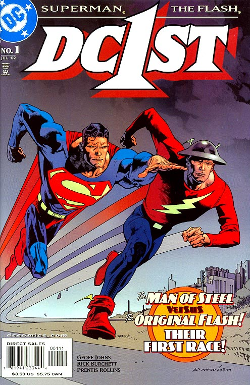 DC 1 ST Superman Flash 1
