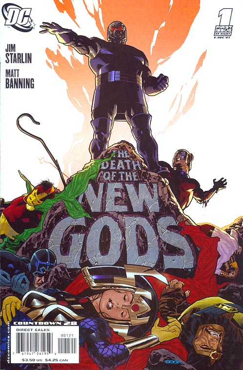 Death Of The New Gods 1 (of 8 ) ( 1 in 10 Ryan Sook Variant)