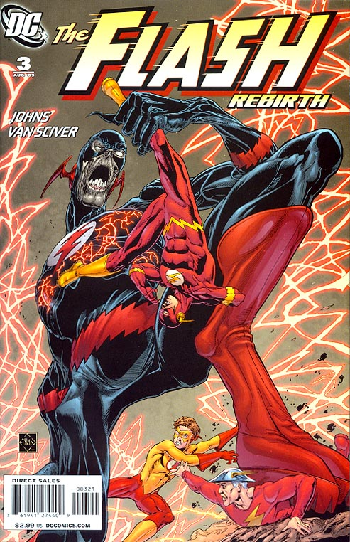 Flash Rebirth 3 (of 6 ) ( 1 in 25 Incentive Van Sciver Variant)