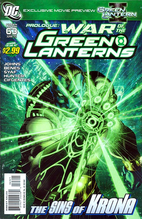Green Lantern vol 4 - 63 ( 1 in 10 Brett Booth Variant) -VFNM