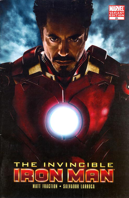 Invincible Iron Man vol 5 - 25 ( 1 in 10 Movie Variant) -VF