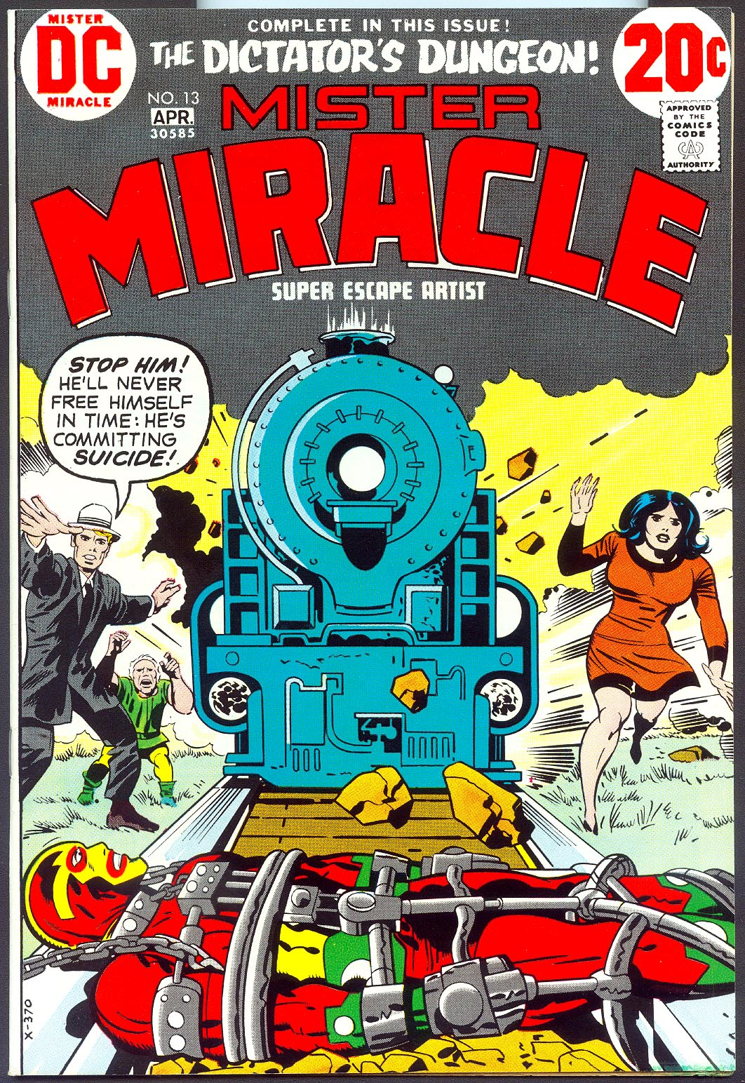 Mister Miracle 13