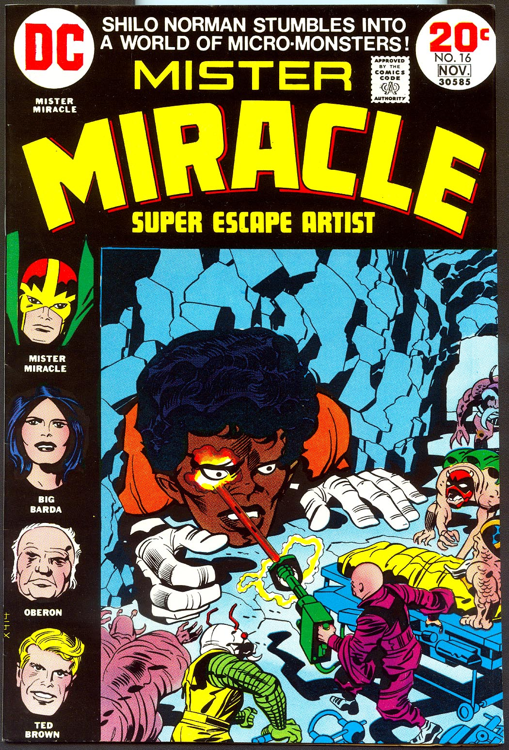 Mister Miracle 16 -VFNM