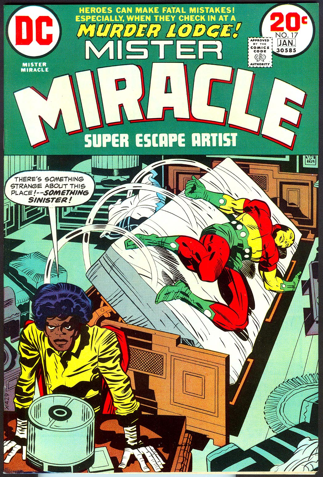 Mister Miracle 17