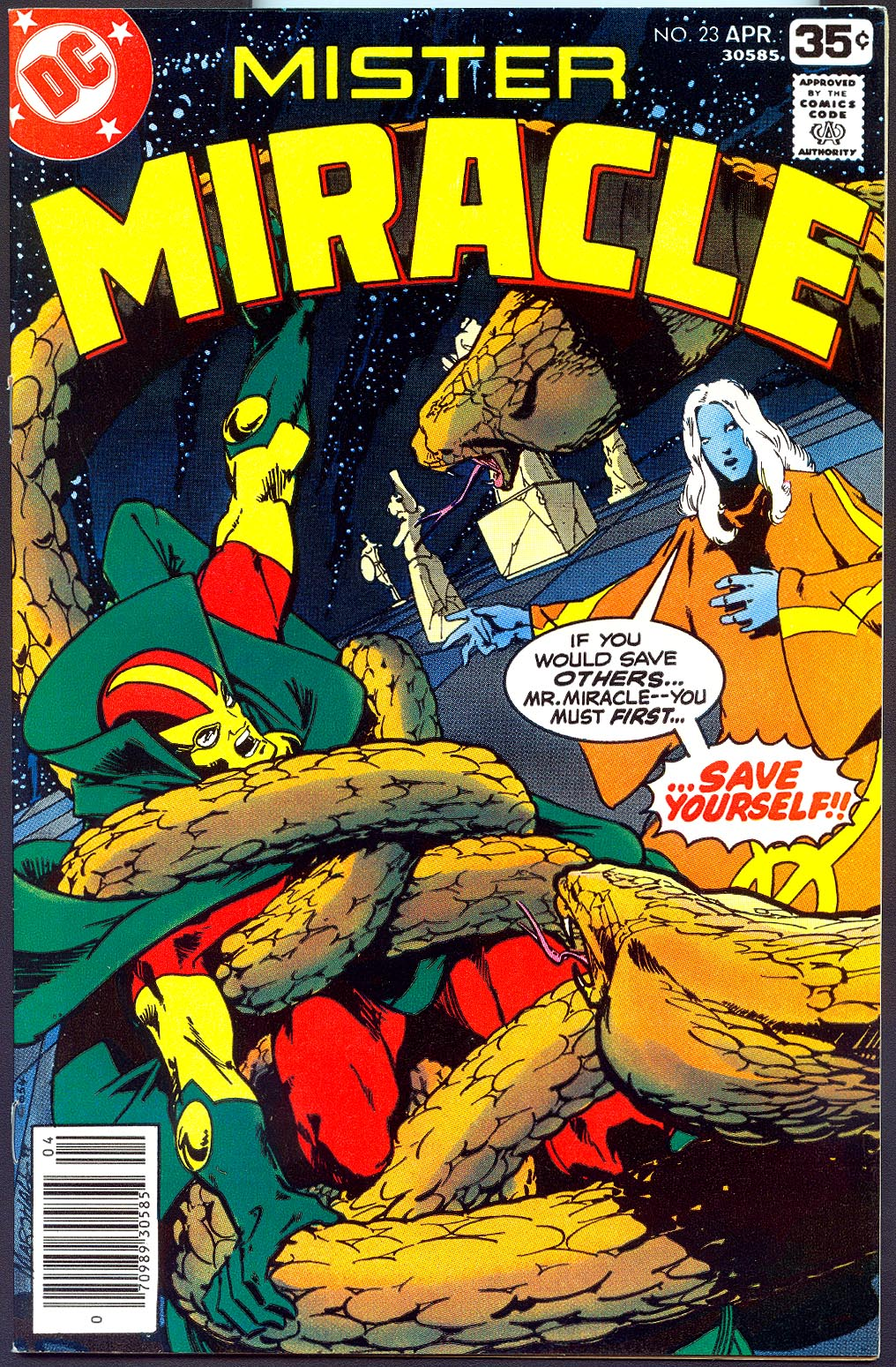 Mister Miracle 23 -VF