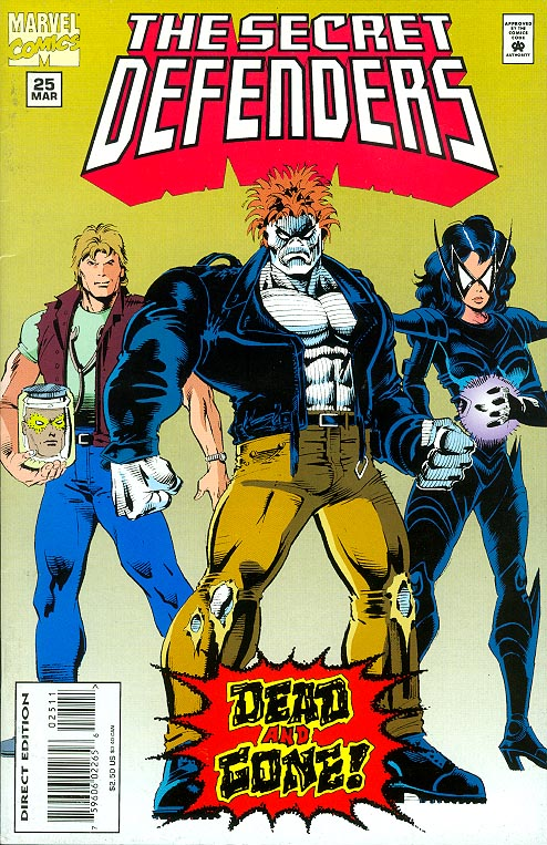 Secret Defenders 25 -VF