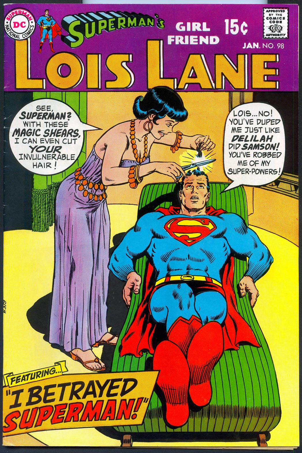 Supermans Girlfriend Lois Lane 98 -VF
