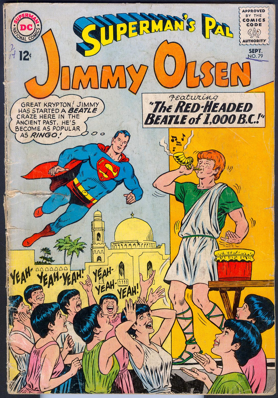 Supermans Pal Jimmy Olsen 79 -FR
