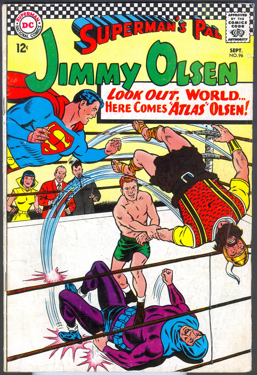 Supermans Pal Jimmy Olsen 96 -F